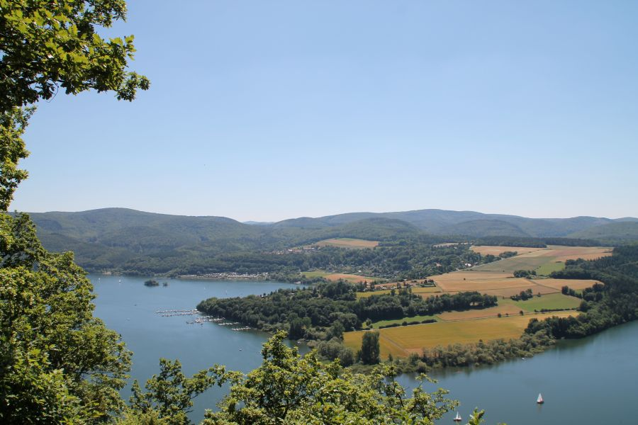 Sommer 2013 am Edersee